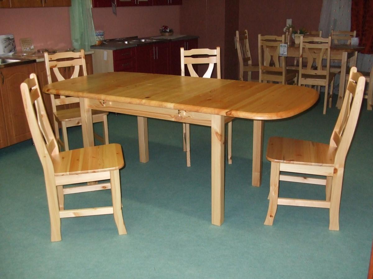 Fenyő étkezőasztal Kikol bútor webáruház